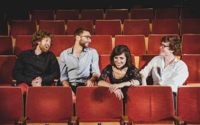 Von links nach rechts: Jakob Petzl, Matti Oehl, Antonia Hausmann und Philip Frischkorn. Foto: Susann Jehnichen