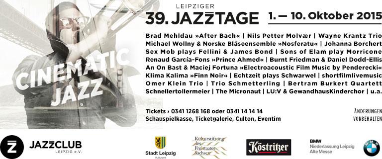 39. Leipziger Jazztage