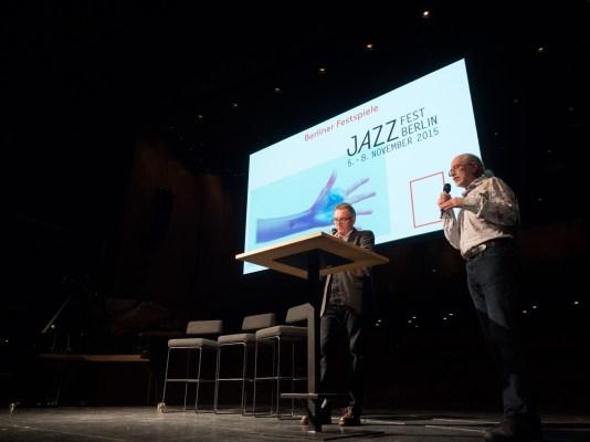 Richard Williams und Arne Schumacher beim Vorspiel zum Jazzfest. Foto: Martin Hufner