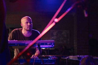 Klas-Henrik Hörngren von Klabbes Bank, Fabulous Swedish Jazz On Stage, Unterfahrt, Munich, Foto Ralf Dombrowski