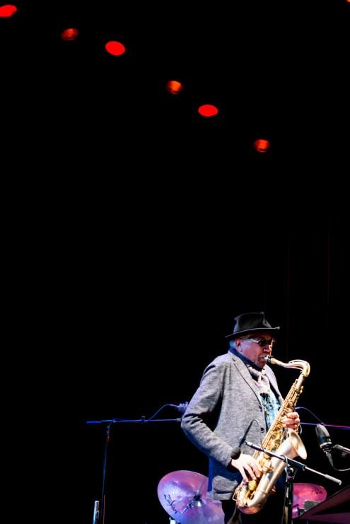Charles Lloyd beim Jazzfest Berlin 2015. Foto: Petra Basche