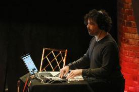 Zuständig für das Sound-Design: André Nascimento. Foto: Ralf Dombrowski