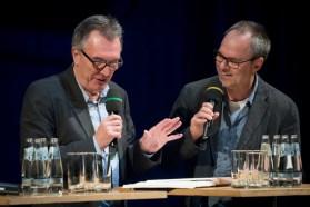 Jazzfest 2016: Richard Williams im Gespräch mit Ulf Drechsel. Foto: Petra Basche