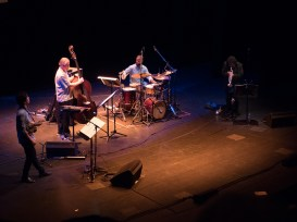 Wadada Leo Smith's Great Lakes Quartet. Foto: Hufner