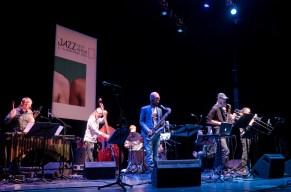 Steve Lehman Octet @ Jazzfest Berlin. Foto: Hufner