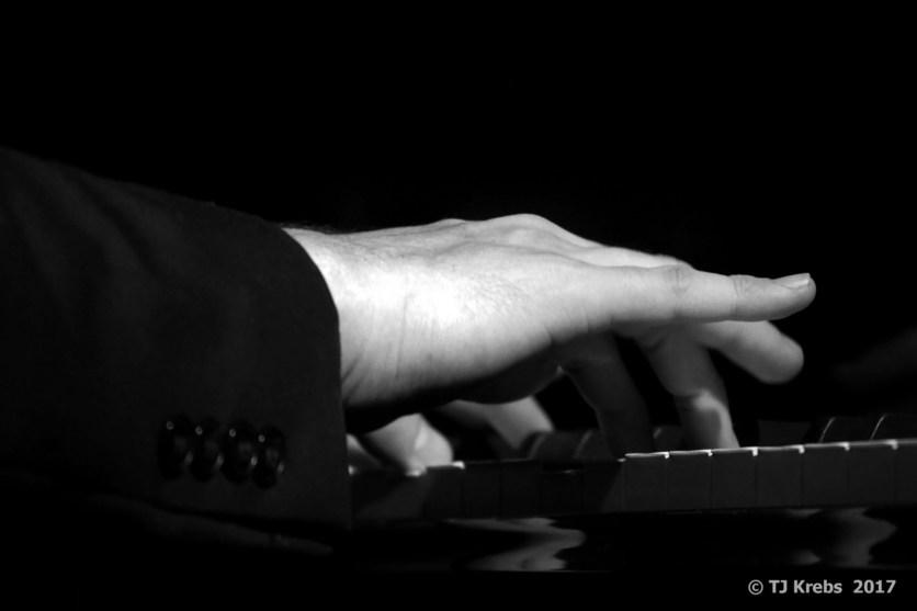 Justin Kauflins Hand. Foto: TJ Krebs