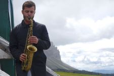 Reiner Baas (g), Ben van Gelder (as), Südtirol Jazzfestival Alto Adige, Würzjoch, Foto Ralf Dombrowski