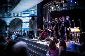 Beste Akustik: Jazz im Thon-Dittmer-Palais. Foto: Petra Basche