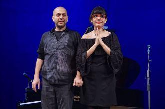 Fractal Limits, Vardan Ovsepian (p), Tatjiana Parra (voc), Heizwerk, Erfurt, Achava Jazz Award 2017, Foto Ralf Dombrowski