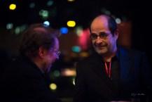 Der Kritiker im Gespräch mit einem Kritiker. Foto: Petra Basche