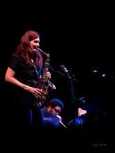 Chris Tordini im Trio und Albert Mangelsdorff Preis der UdJ. Foto: Petra Basche
