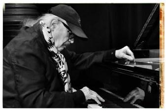 Wolfgang Dauner am Klavier. Foto: Thomas J. Krebs