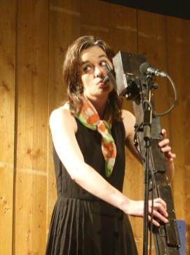 Josephine Bode, die diesjährige improviser in residence. Foto: S. Pieper