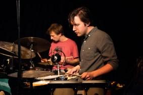 Simon Popp, Sebastian Wolfgruber (hinten). Foto: Susanne van Loon