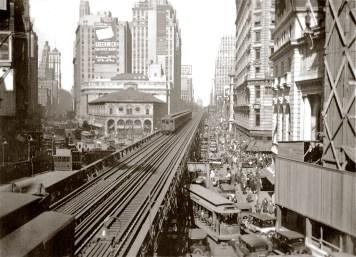 Hochbahn. Foto: Ulrich Balß, New York Present & Past (Bremen 2018), S.50