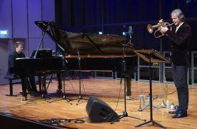 Florian Weber, Markus Stockhausen, Mozarteum, Solaris, Salzburg, Jazz & The City, Foto Ralf Dombrowski