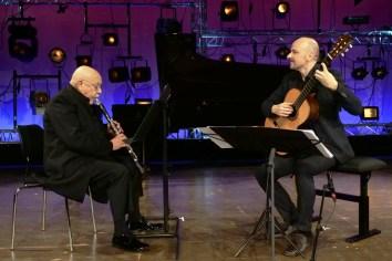 Giora Feidman & Johannes Kreusch. Foto: Thomas J. Krebs