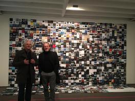 Manfred Eicher und Hubert Klotzeck. Foto: ECM