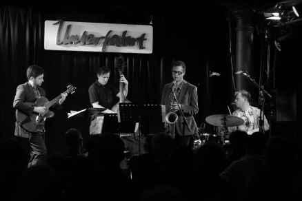 Jochen Rückert Quartett. Foto: T. J. Krebs