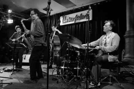 Jochen Rückert Quartett in der Unterfahrt. Foto: T. J. Krebs