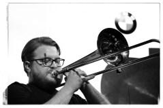Roman Sladek (Posaune). Foto: J.T. Krebs