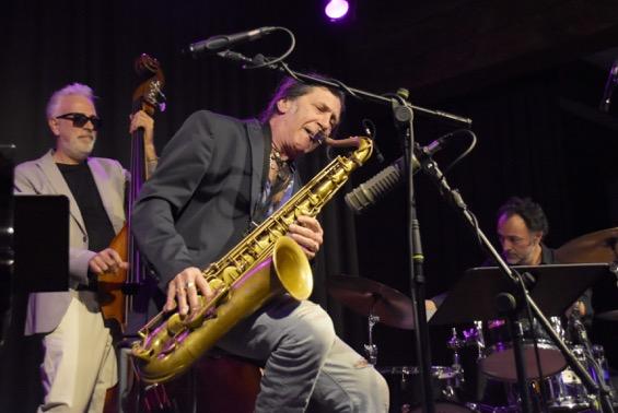 Jorge Pardo und Kin García. Foto: Michael Scheiner
