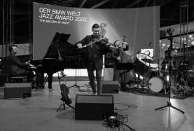 In Aktion: das Adam Baldych Quartett. Foto: TJ Krebs