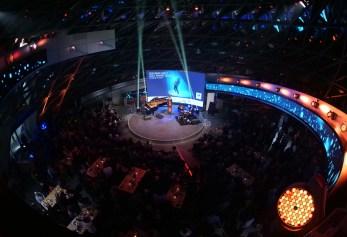 Das Trio Reis-Demuth-Wiltgen in der BMW Welt. Foto: TJ Krebs