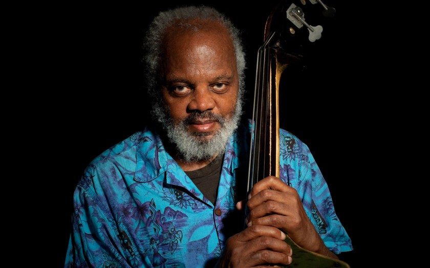 Henry Grimes with bass, photo by Nick Ruechel, 2010