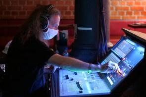 Soundman Robert Huber - Foto TJ Krebs