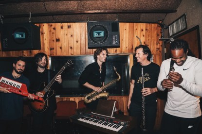 Das Meinhart Quartet im Studio. Foto: Mariana Meraz