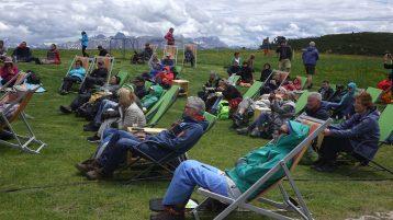 Klassiker des Südtirol Jazzfestivals: Konzert auf dem Ritten. Foto: Stefan Pieper