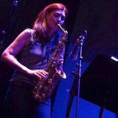 Angelika Niescier (as), re: BTVHN, Main Stage, 41.Jazzfestival Saalfelden, Photo (c) Ralf Dombrowski