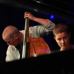 Christian Lillinger (dr), Kaja Draksler (p), Petter Eldh (b), Nexus, Punkt vrt. Plastik 41.Jazzfestival Saalfelden, Photo (c) Ralf Dombrowski