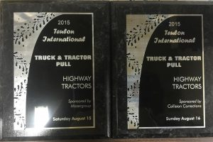 Truck Pull Trophies