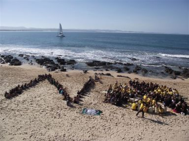 The JBay community have said no to a nuke at Thyspunt. Photo: Alison Kuhl