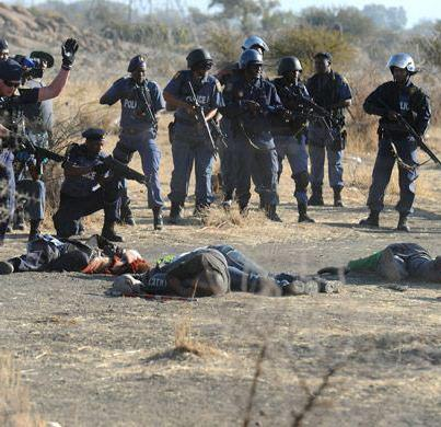 Tensions have been high on the platinum belt since the Marikana massacre.