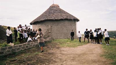 An Eastern Cape mud hut school. Photo: SABC
