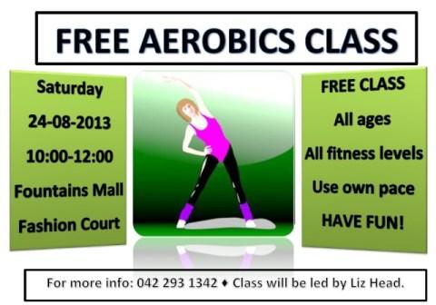 Edge fitness aerobic class