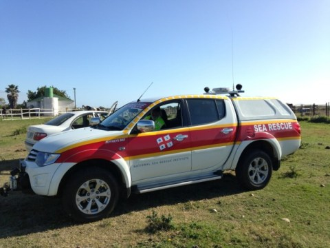 The new NSRI Rescue Vehicle