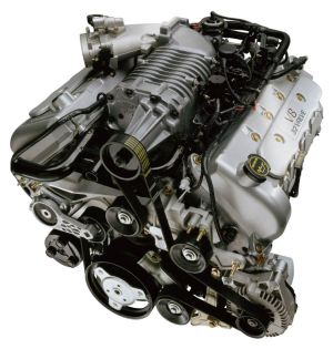 2002 Ford Mustang SVT Cobra 46L V8 Supercharged Engine  Picture  Pic  Image