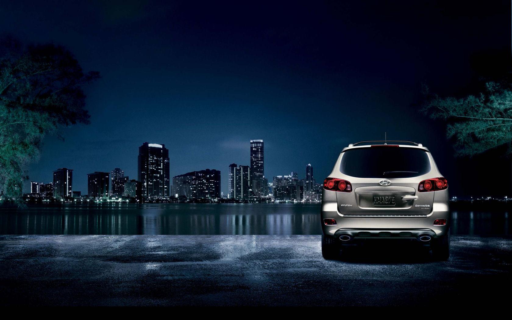 Hyundai Santa Fe GLS, SE, Limited - Free Widescreen Wallpaper / Desktop