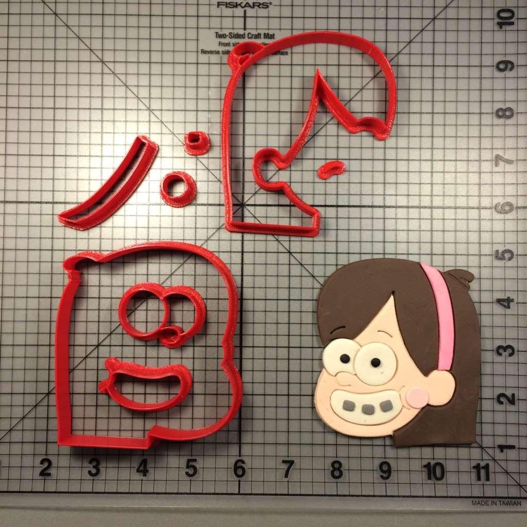 Gravity Falls Mabel Cookie Cutter Set
