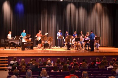 GEHS Jazz Band Performing