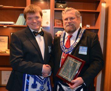 Mason of the Year 2015 John Rowe