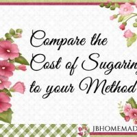 Compare the Cost of Sugaring