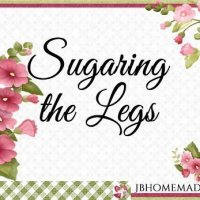 Sugaring the Legs with Sugar Paste