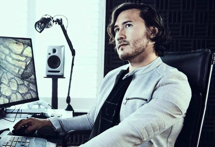 Markiplier, #6, list of top 10 highest paid YouTubers for 2018.