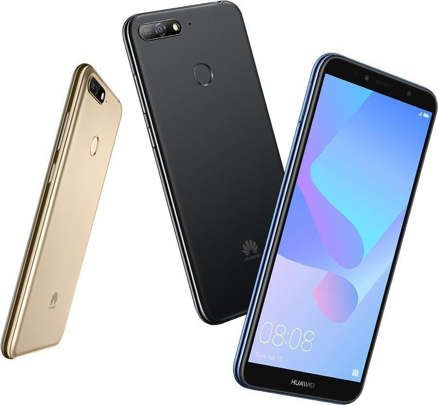 Huawei Y6 Prime 2018....list and specs of prominent phones Huawei released the previous year, 2018 - alongs side with their prices