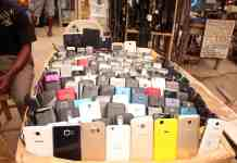 stolen phones market Nigeria